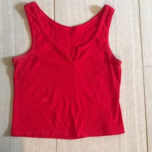 Red pac sun tank top